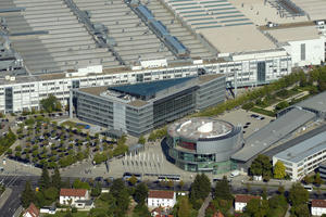 Aerial view of plant Ingolstadt (Germany)