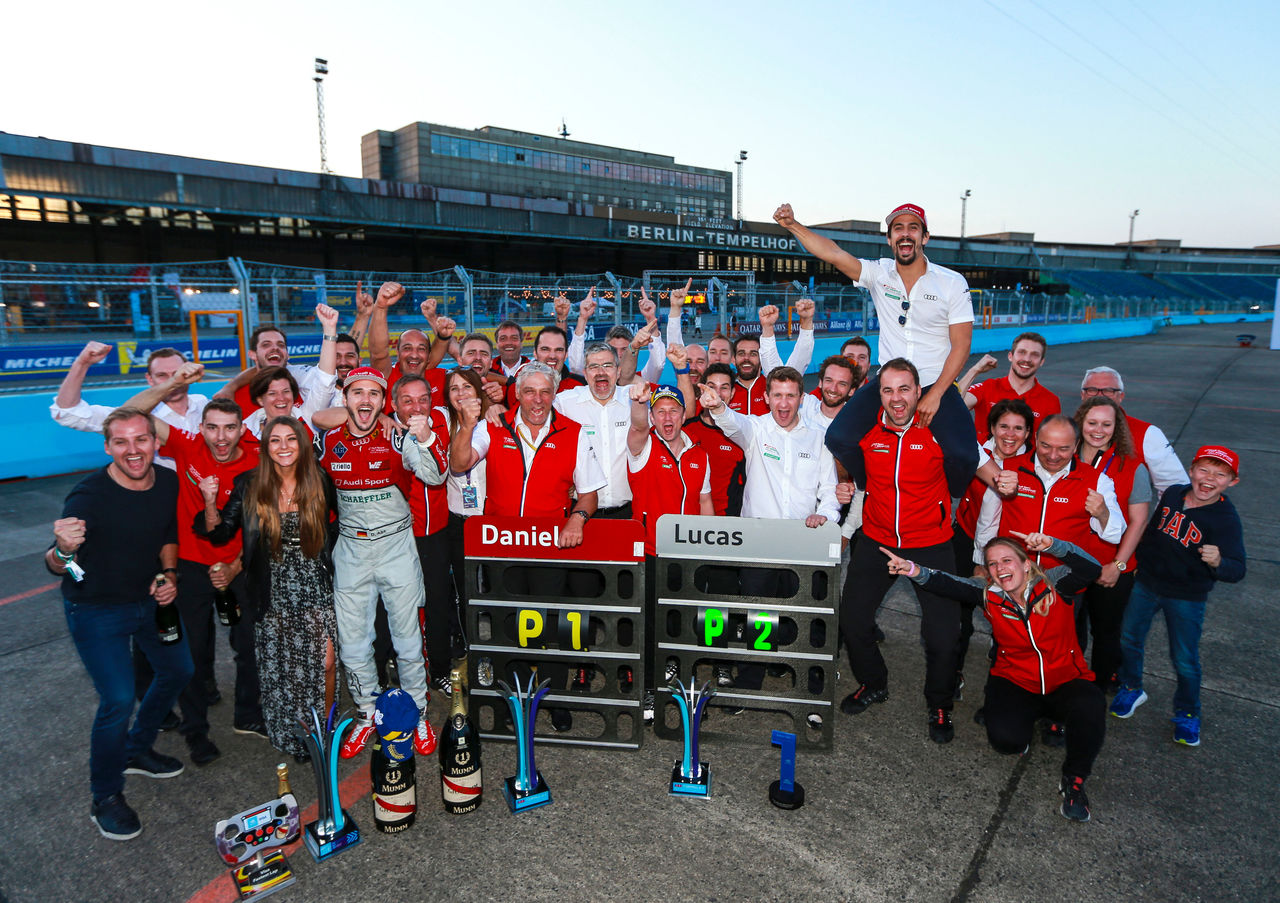 Audi and Daniel Abt make Formula E history