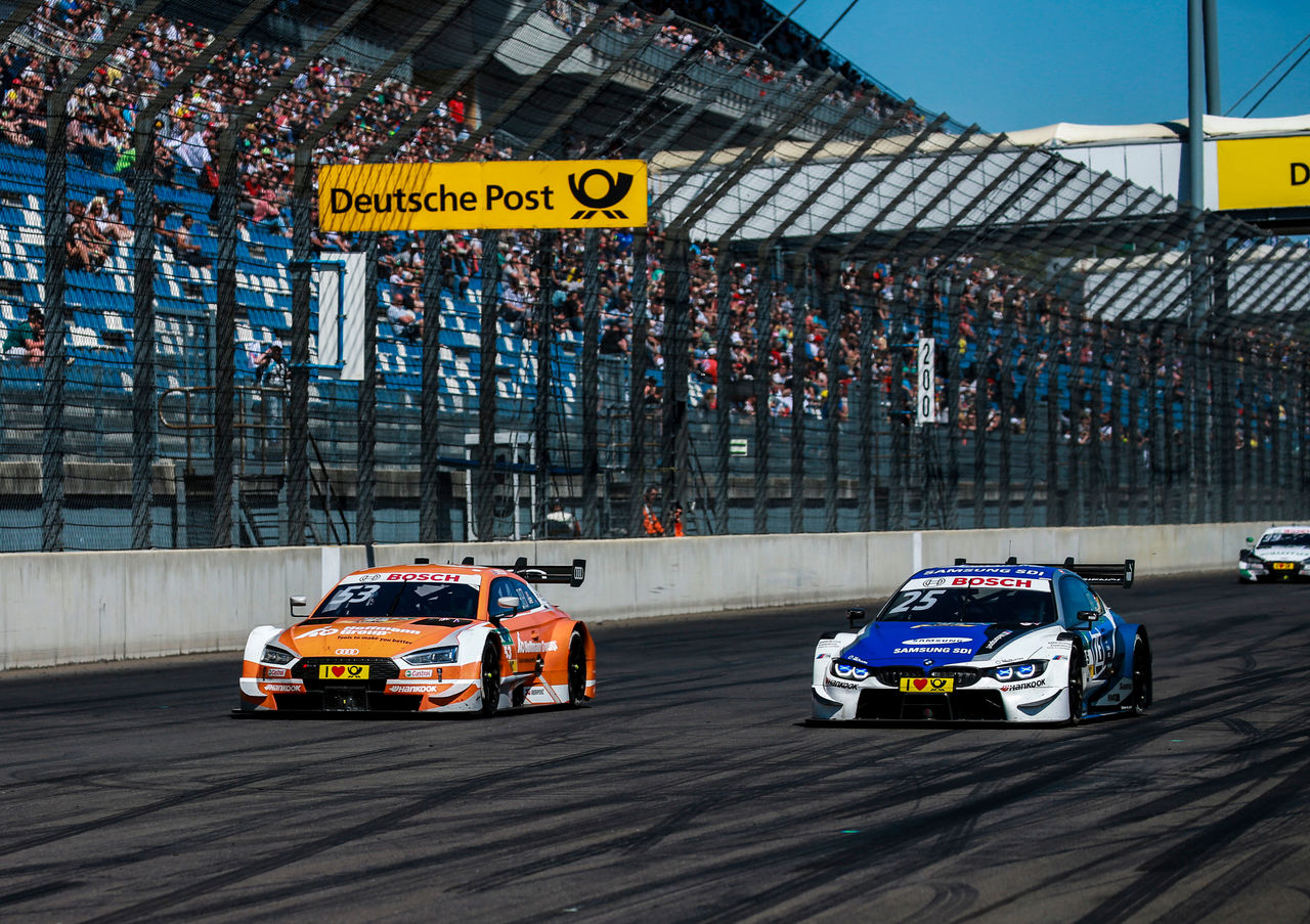 DTM Lausitzring: Jamie Green best Audi driver in sixth place thanks to tire gamble