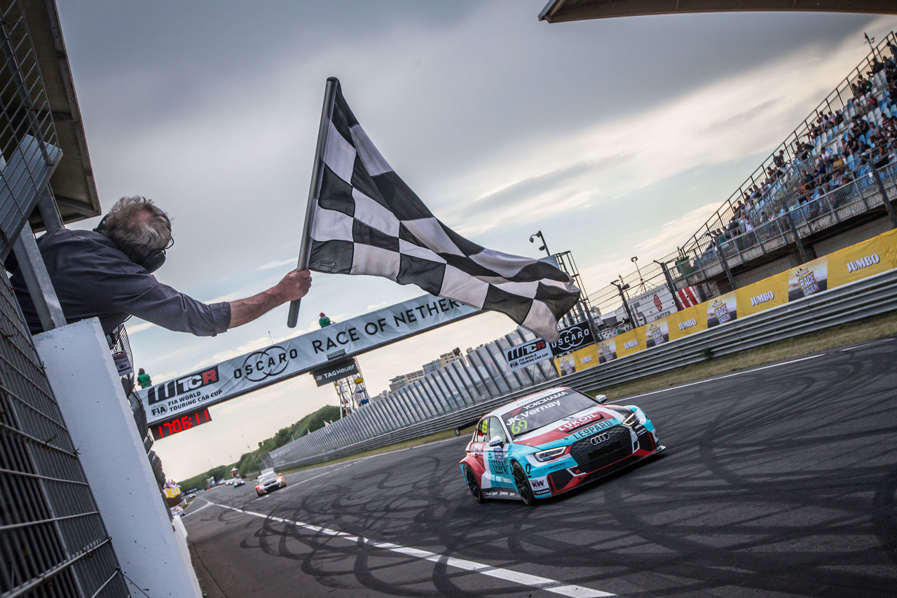 FIA WTCR Zandvoort: Second win of the season for Audi Sport