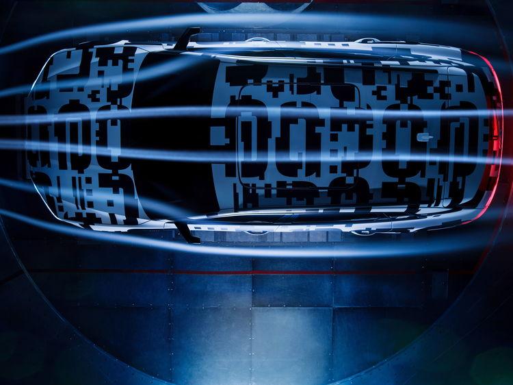 Streamline: Audi e-tron prototype  with decisive aerodynamics