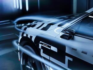 Stromlinie: Audi e-tron-Prototyp  mit maßgebender Aerodynamik