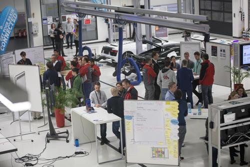 """""""96 h Innovation"""": Zweiter Kreathon in der Audi R8-Manufaktur"""
