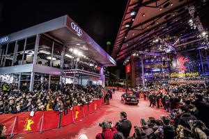 Audi promoting directors of short films at the Berlinale