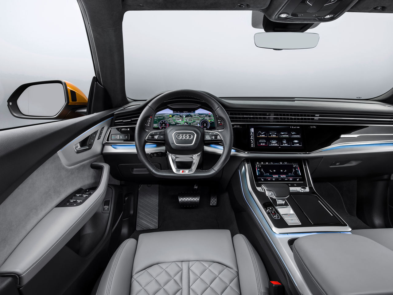 Interior Audi Mediacenter