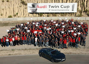 Audi Twin Cup: world-class service