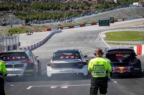 Rallycross-WM 2018, Hell