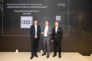 Audi A8 innovationsstärkstes Modell 2018