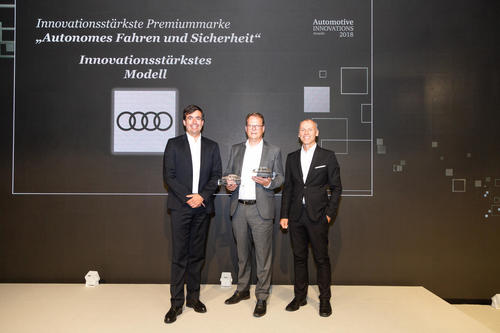 Audi A8 innovationsstärkstes Modell 2018