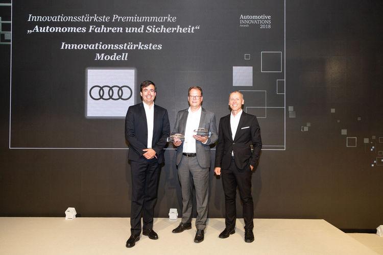 Audi A8 most innovative model of 2018