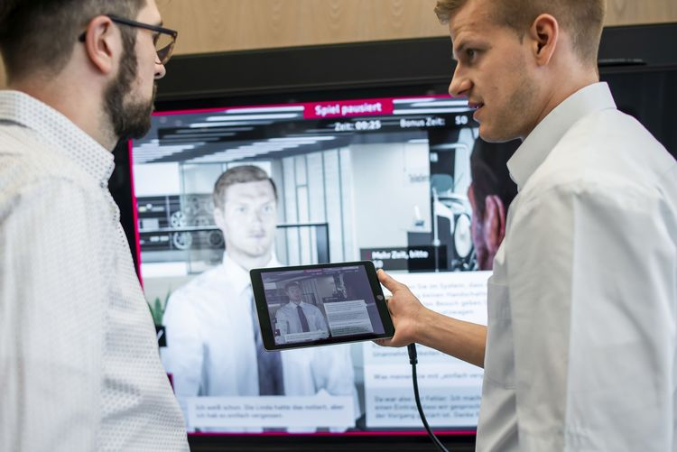 Audi Virtual Training: New gamification learning concept in the digital car dealership
