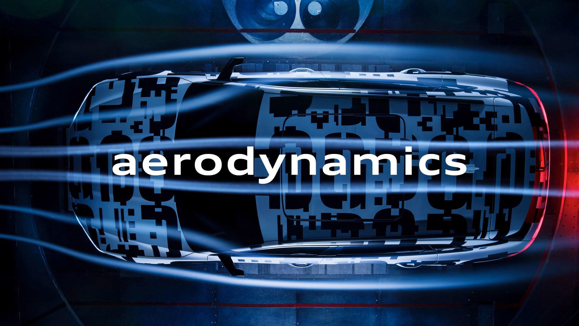 e-tron aerodynamics