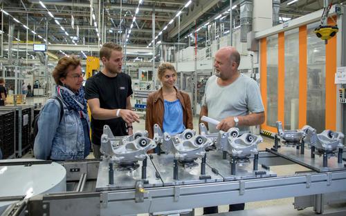 Blick hinter die Kulissen: Erster Mitarbeitertag bei Audi in Münchsmünster