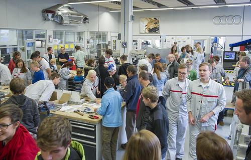 Berufswelt hautnah: Tag der offenen Tür im Audi Bildungswesen in Ingolstadt