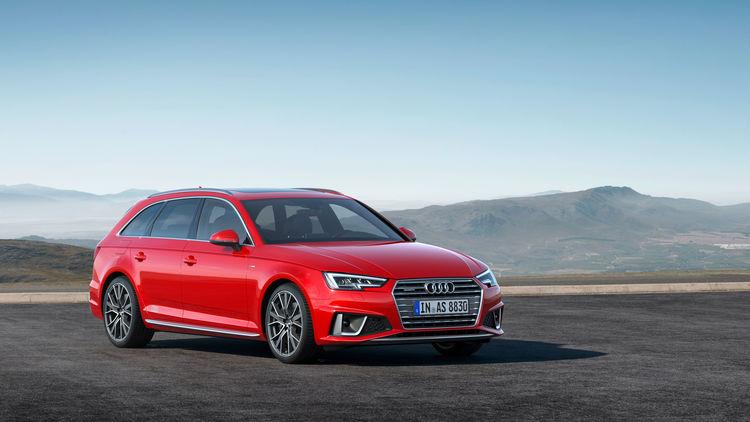 Audi A4 Limousine Und Audi A4 Avant Erfolgsmodelle In