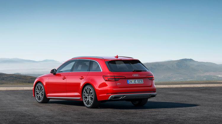 Audi A4 Avant S line competition