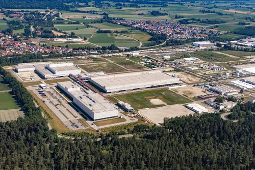 Audi Site Münchsmünster aerial photo
