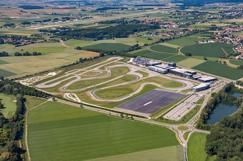 Audi Site Neuburg aerial photo