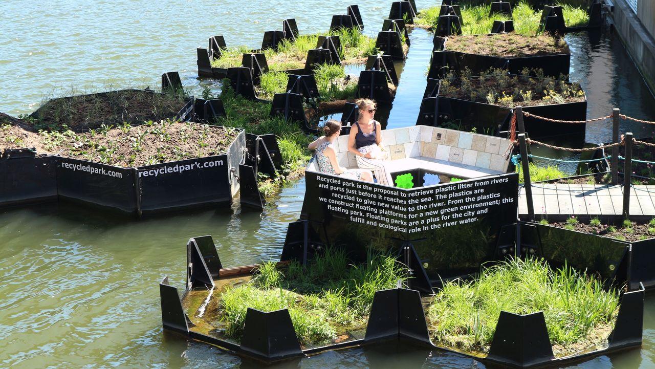 Audi-Umweltstiftung macht aus Plastikmüll Naherholungsgebiete