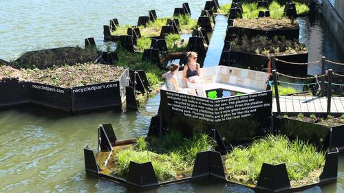 Audi Environmental Foundation turns plastic waste into recreation areas