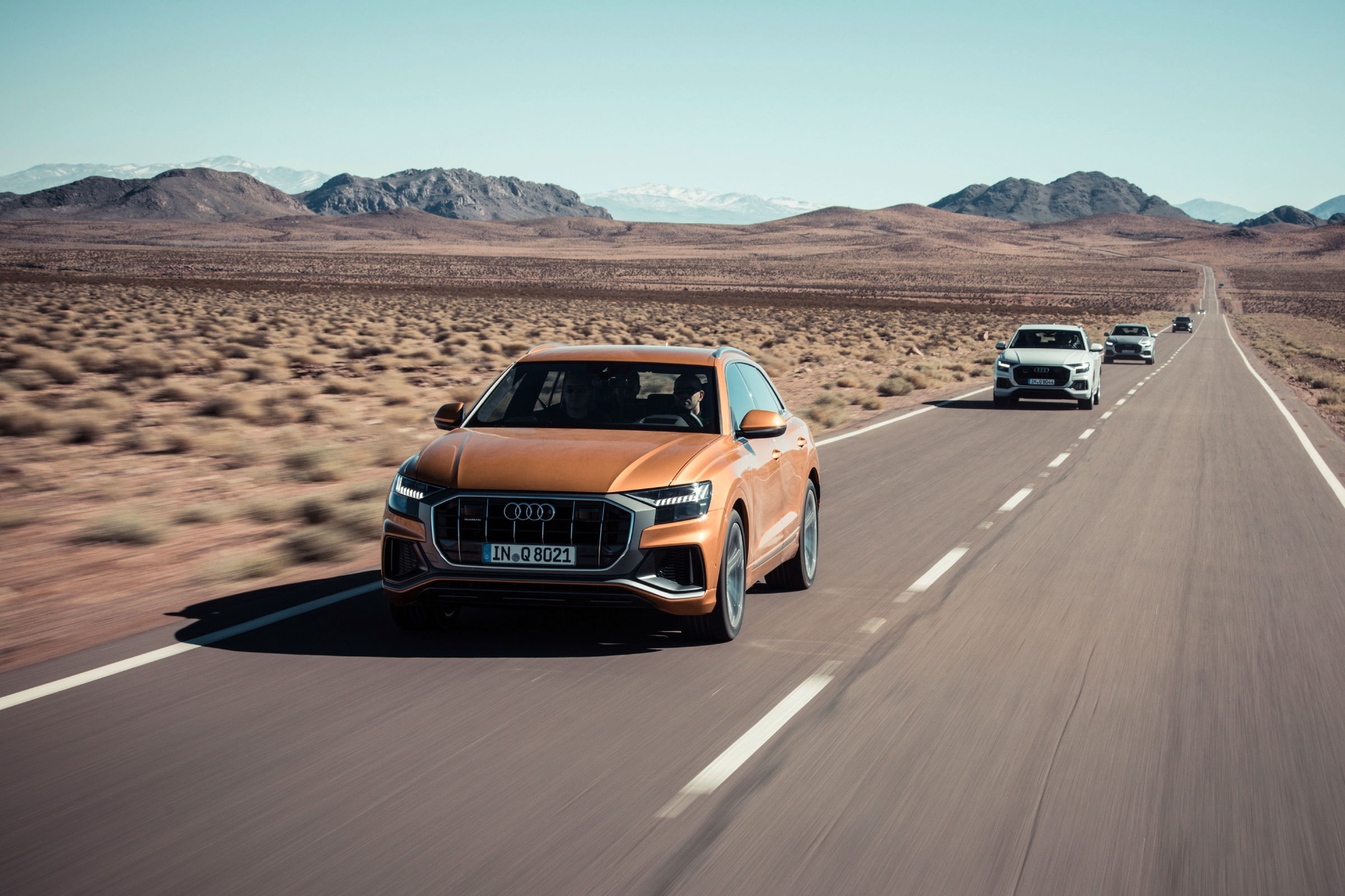 The audi q8: audi connect and driver assistance systems by audi.