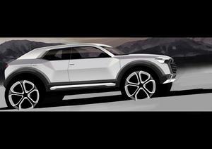 Audi beschließt Entwicklung des Q1  als neues Mitglied der Q-Familie