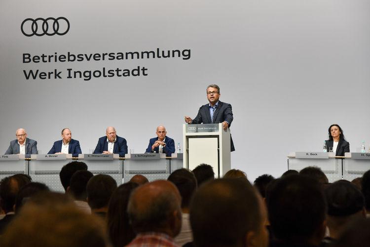 Audi-Betriebsrat forciert Neustart