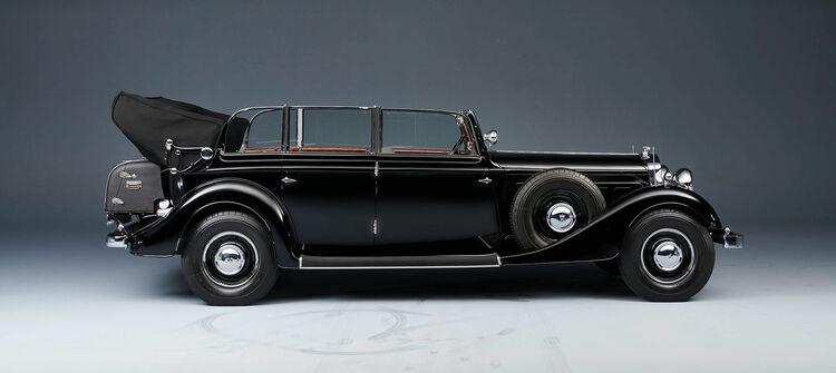 Audi Tradition bei den Classic Days Schloss Dyck