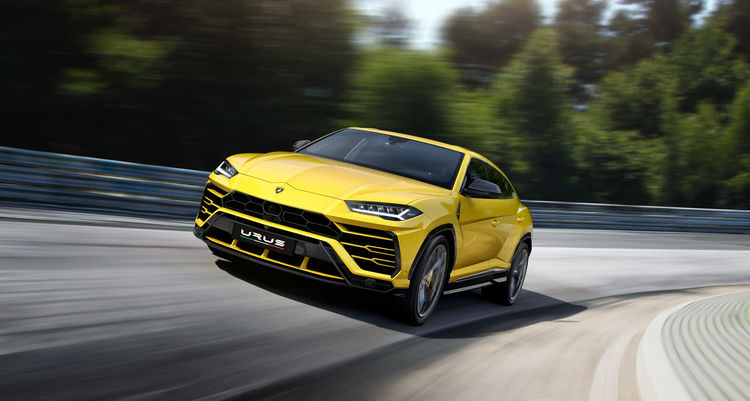 Automobili Lamborghini continues growth  with new half-year sales record
