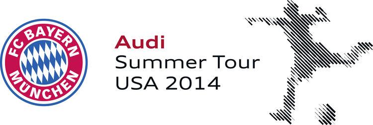 Audi präsentiert US-Tour des FC Bayern