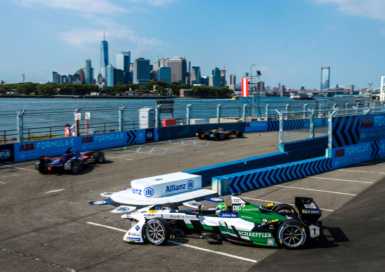 Formula E, New York E-Prix 2018