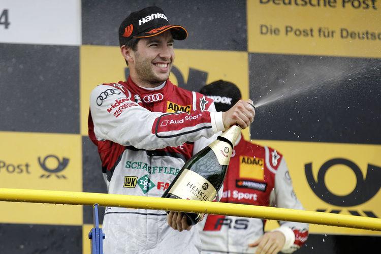 Audi erobert die DTM-Führung