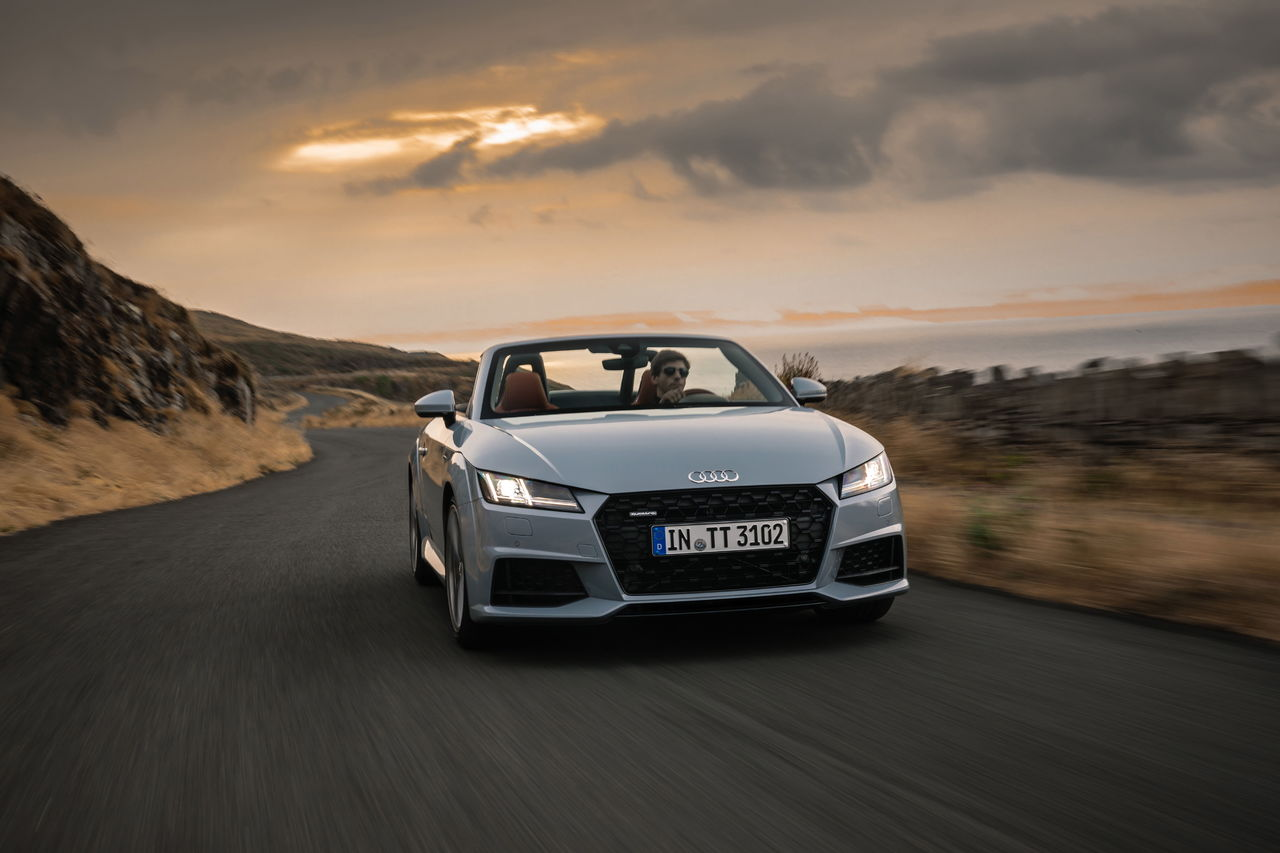 More performance for the compact sports car: ||the new Audi TT can be ordered now