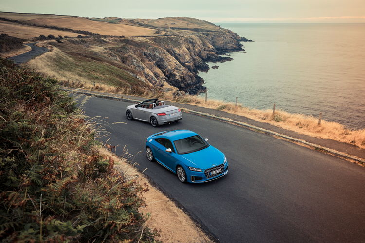 """Audi TTS Coupé and """"TT 20 years"""""""