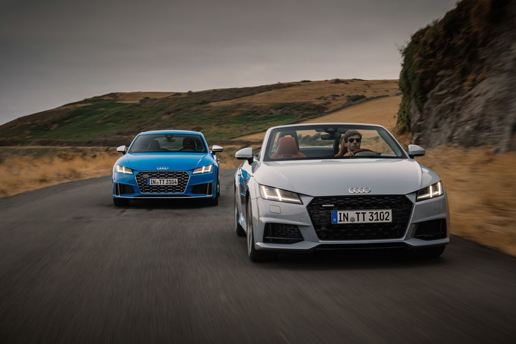 "Audi TTS Coupé and ""TT 20 years"""