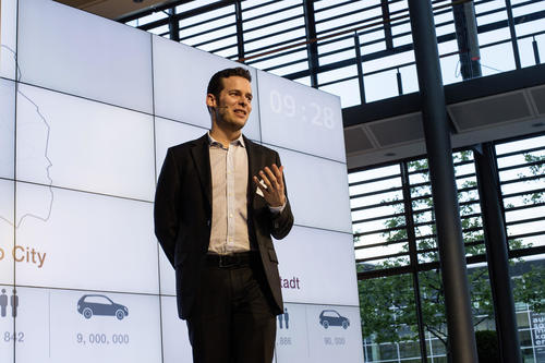 Audi Urban Future Award 2014 - Science Slam at the Audi Forum in Ingolstadt