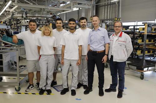 Erfolgreiches erstes Jahr:  Audi-Inklusionsmodell mit Astrid-Lindgren-Schule