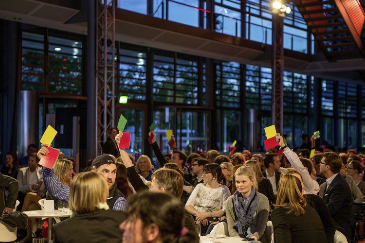 Audi Urban Future Award 2014 - Science Slam im Audi Forum Ingolstadt