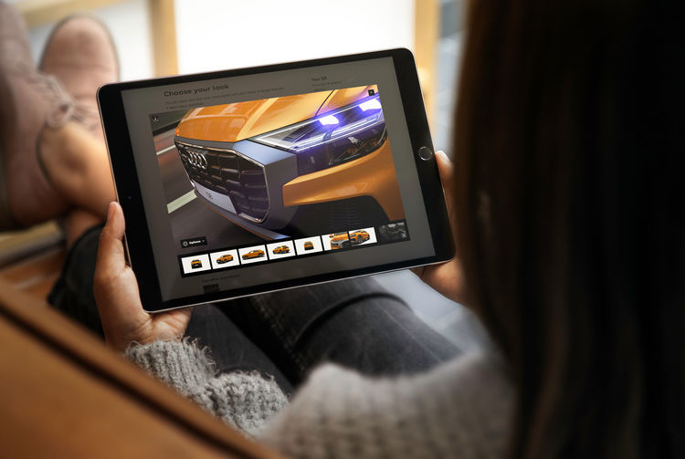 Audi startet neue 3D-Konfiguration
