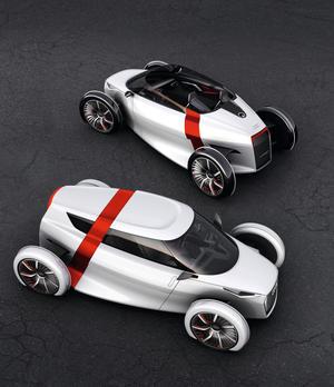 Audi urban concept, Audi urban concept Spyder