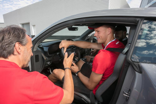 Audi driving xxperience with FC Ingolstadt
