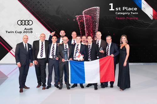 Audi Twin Cup 2018: Weltmeisterpokal geht an Frankreich