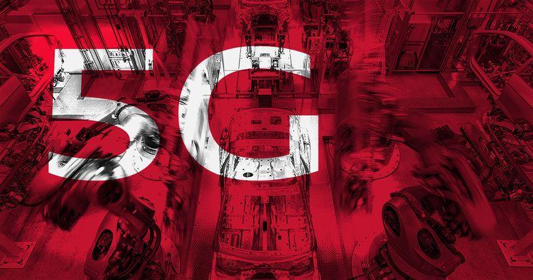 Audi und Ericsson erproben 5G-Technologie für die Automobilfertigung