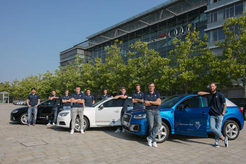 ERC Ingolstadt vehicle hand-over