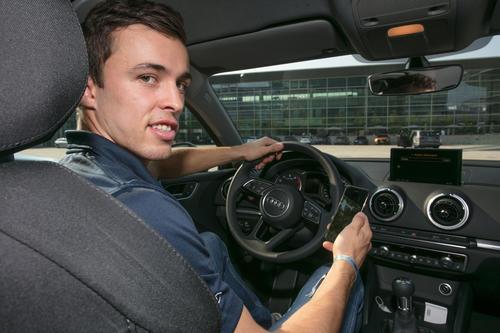 Fahrzeugübergabe ERC Ingolstadt 2018