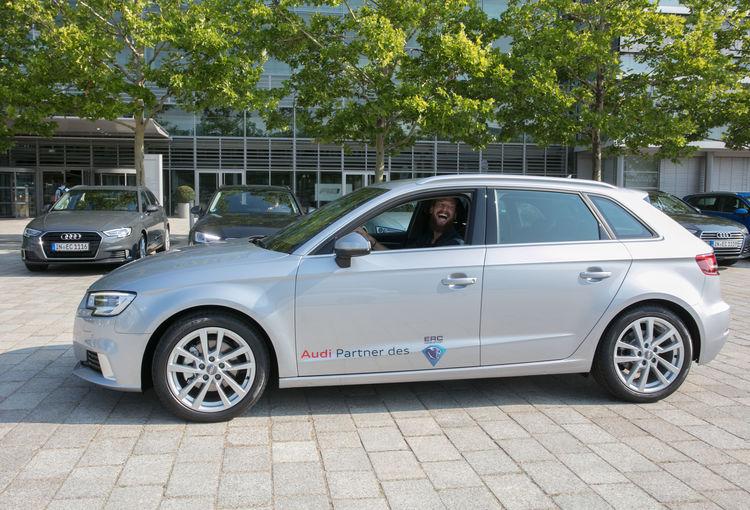 ERC Ingolstadt vehicle hand-over