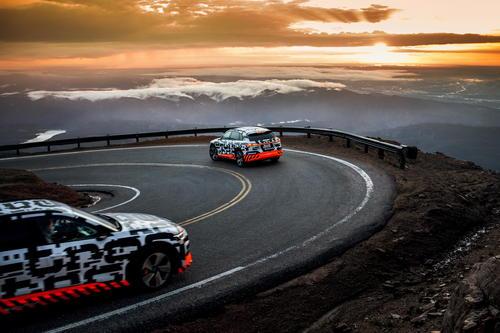 Der Audi e-tron-Prototyp