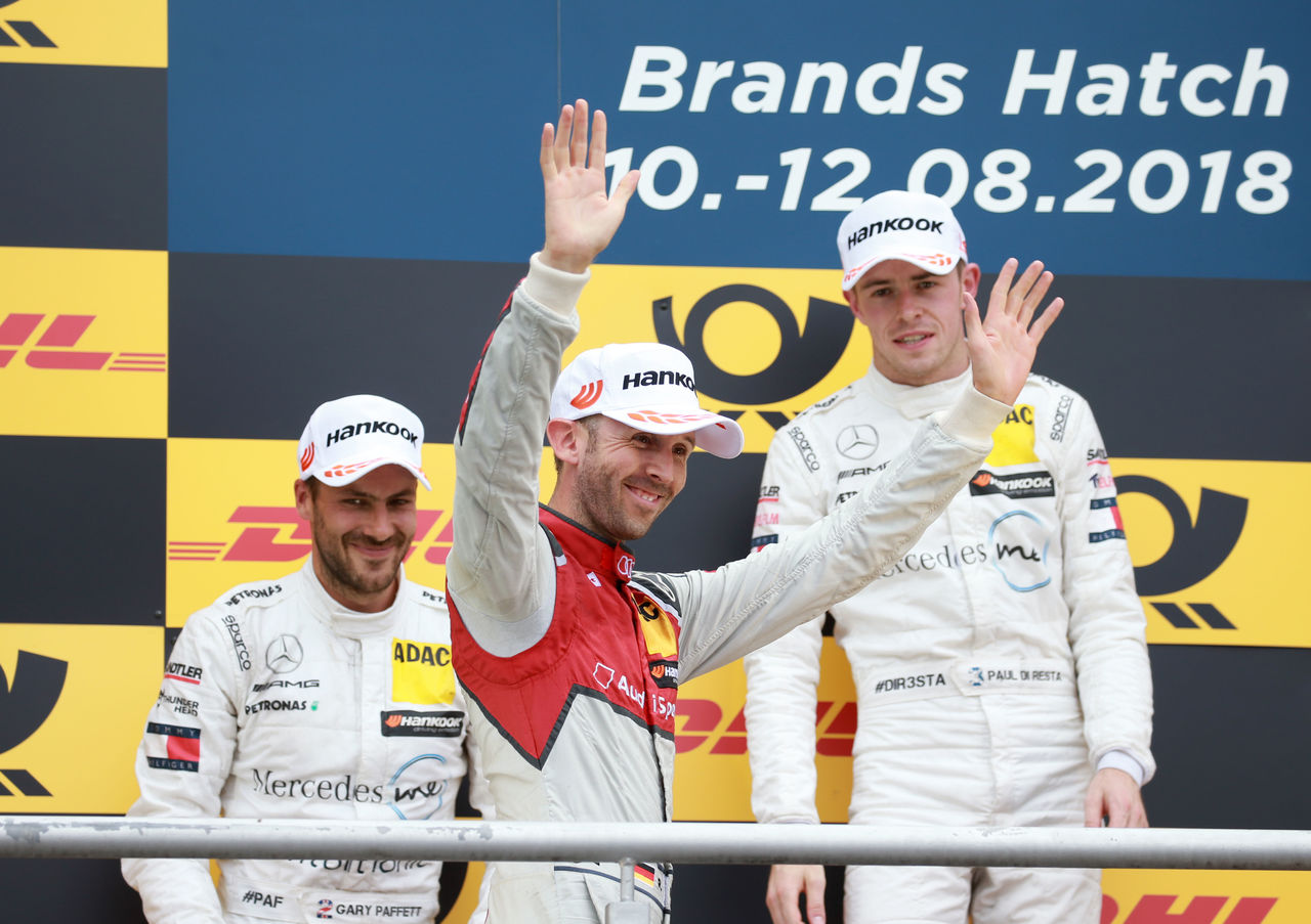 René Rast takes yet another DTM podium for Audi