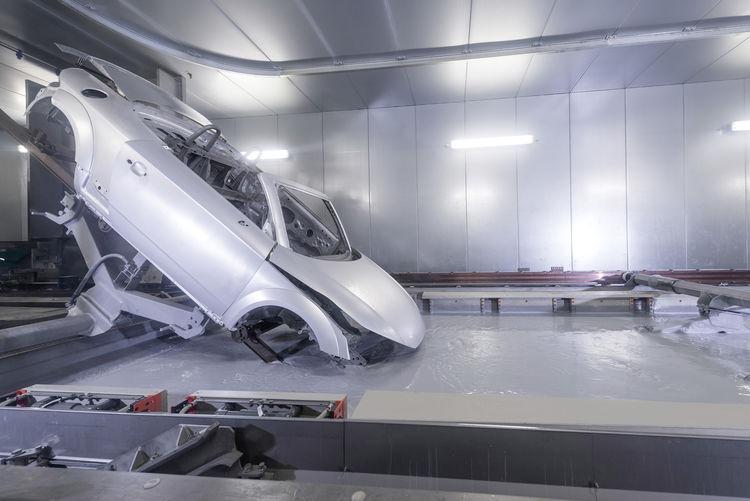 Audi TT Roadster: Paint shop