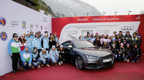 National teams meet at Audi